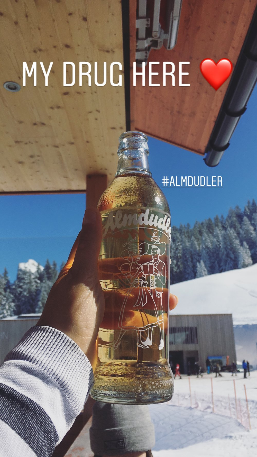 Sun, friends, music, sore legs and Almdudler... What else? - Life is hard.