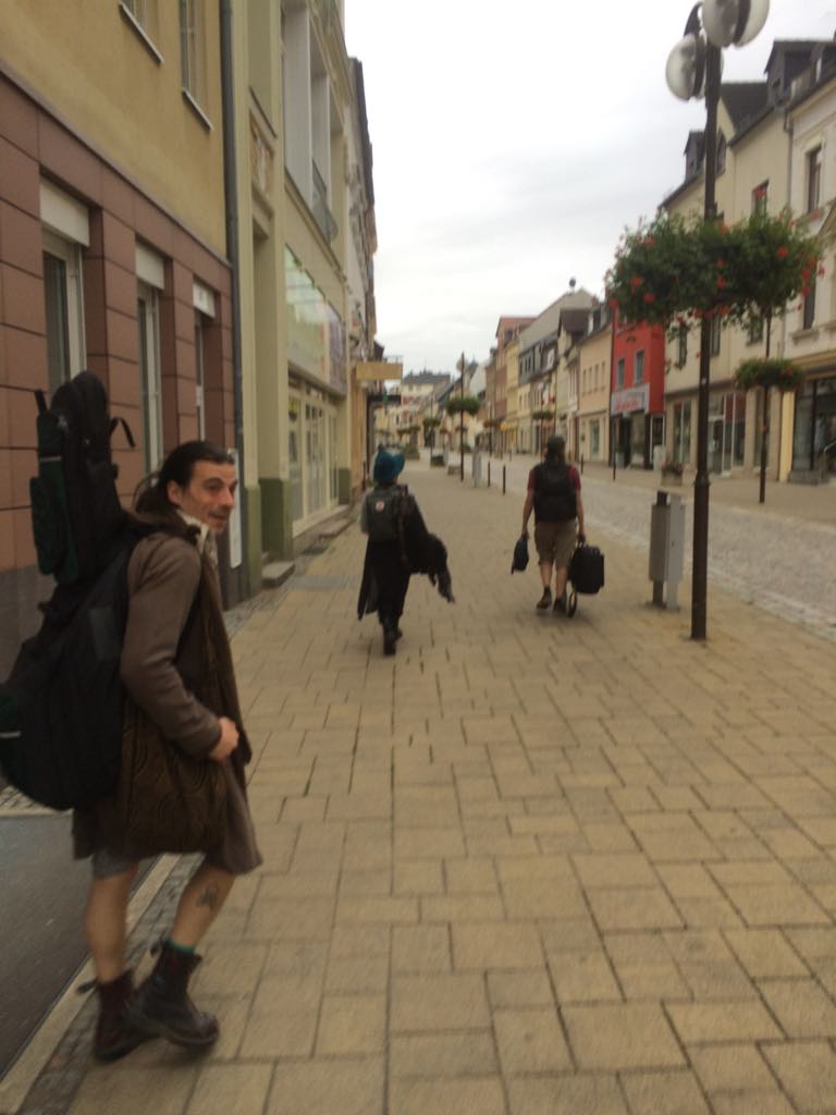 Lost in Glauchau - A Story of Remarkable Bravery and Navigation Skills