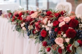 Flowers decoration for weddind table of newlyweds.jpg