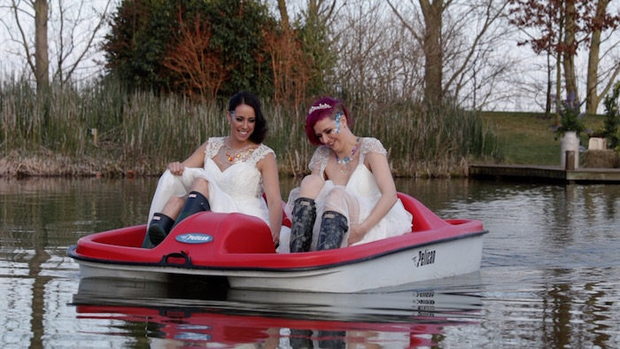 Becky and Becky in the pedalo-2.jpg