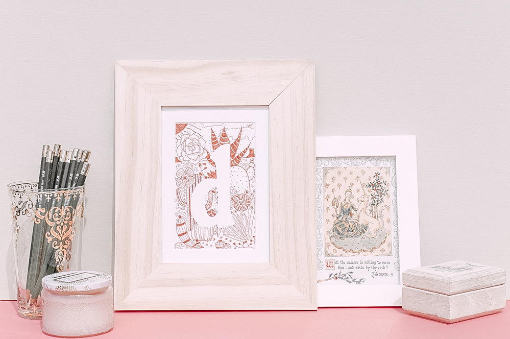 Memory Keeper: Personalized Letter Art for Your Nursery — The Home ...