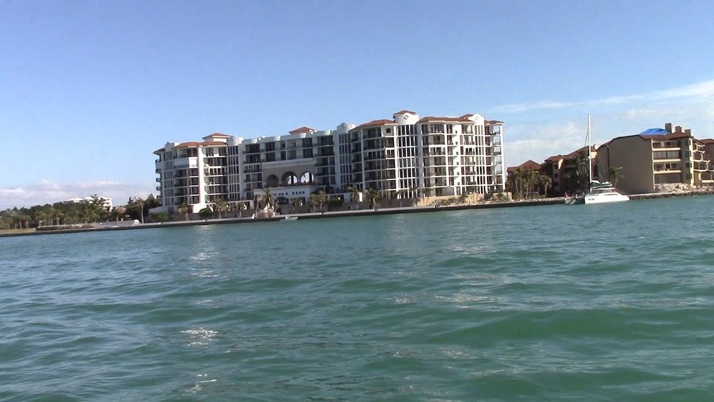 One of the big condos we saw as we entered Marco Island.