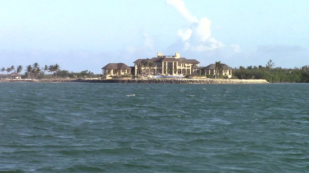 The mansion on Long Point Key. It supposedly belongs to someone that works with Anheuser-Busch.
