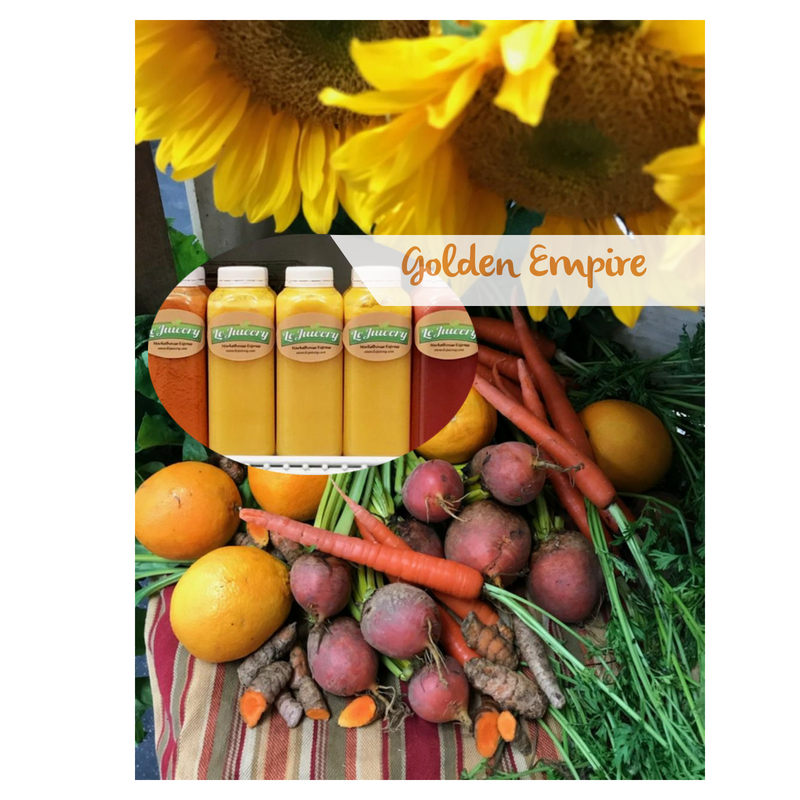 The Golden Empire Juice