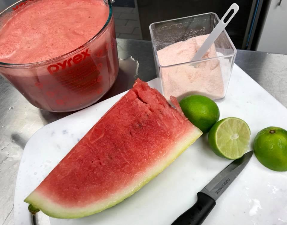 H2O melon juice
