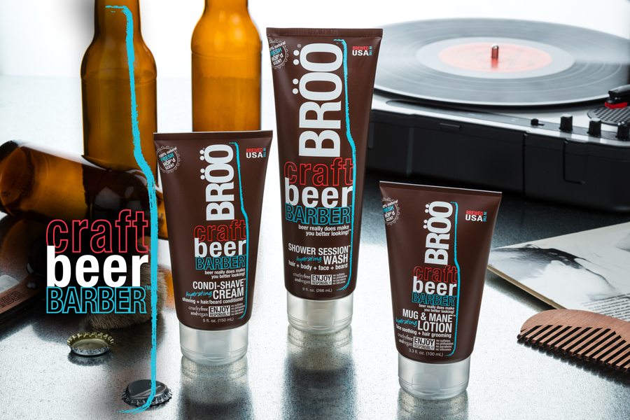 BROO Craft Beer Barber Products