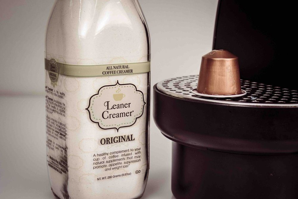 Leaner Creamer All-Natural Coffee Creamer