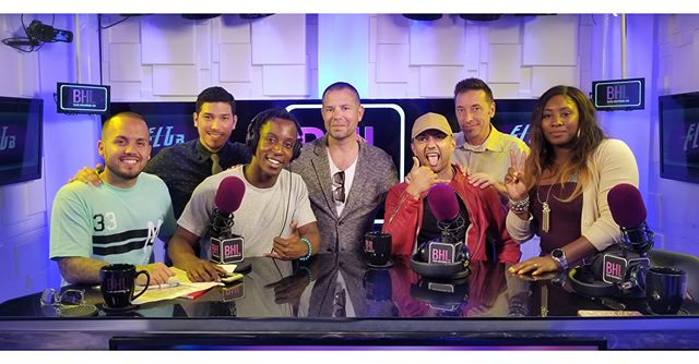 Yesterday was a successful day filled with interviews. Thank you @bhlonline for having us.