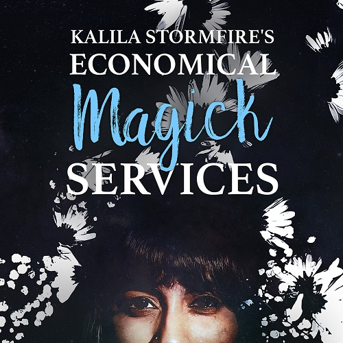 Kalila Stormfire Cover Art Sticker