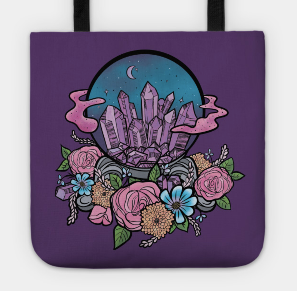 Crystal Ball: Tote Design by Desdymona