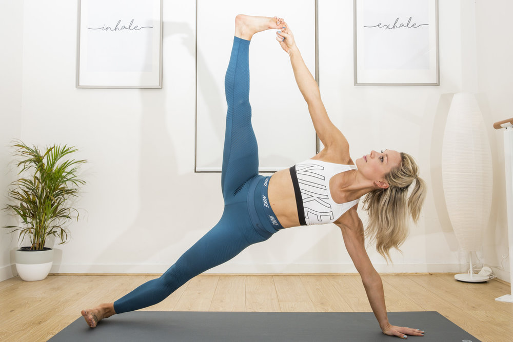 PHOTO OF STEFANIE TURNER, taken at her pilates and yoga studio 'Performance pilates & Yoga' in melbourne. -