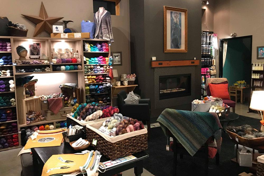 Starlight Knitting Society  has inspiration in every corner!