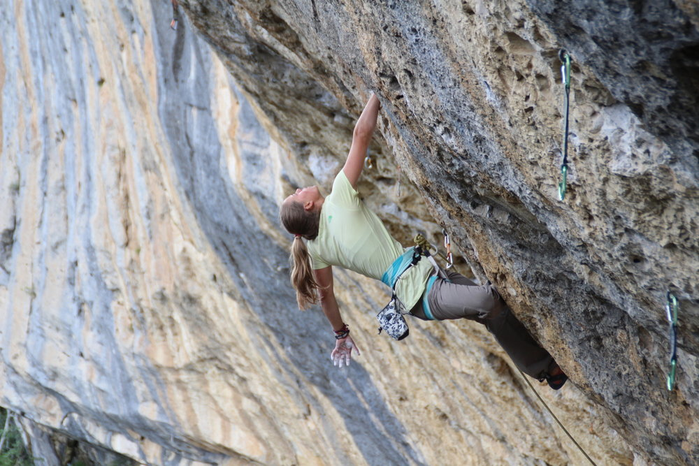 July 16-20/ Ages 10-16 / $750  Sport climbing with instruction emphasis on climbing technique, safety, and gear management