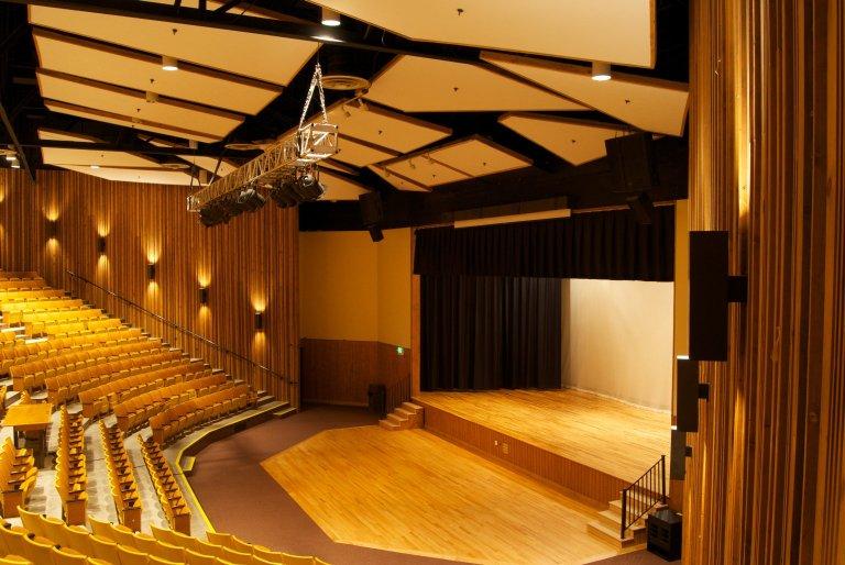 Ruesch Auditorium. Photo Credit YMCA of the Rockies