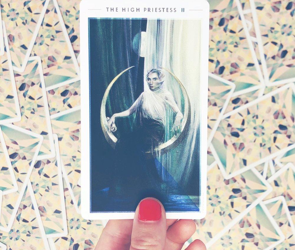 II - The High Priestess | Deck:  The Fountain Tarot