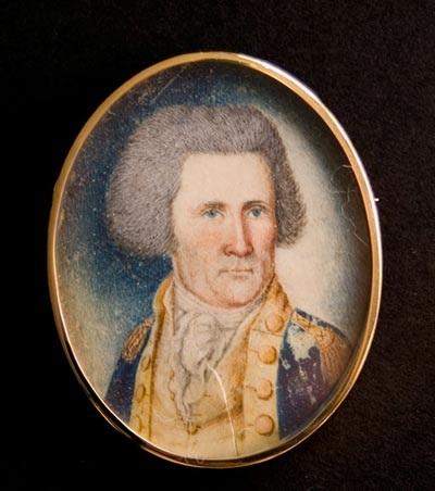 """John Sevier, Leader of the """"Over the mountain men"""""""