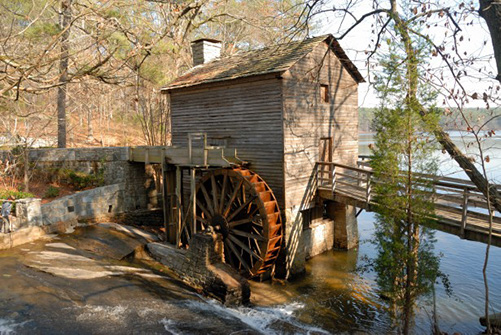 Gristmill from 1800s