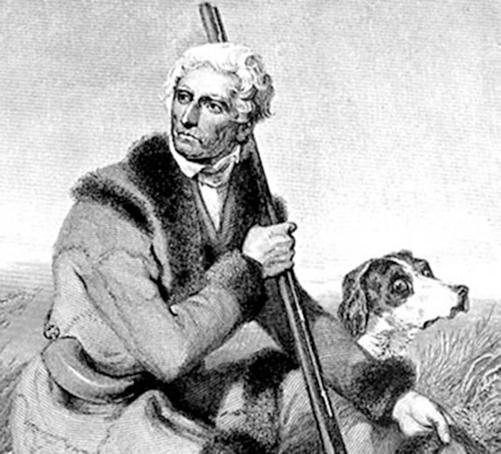 Daniel Boone Late in Life