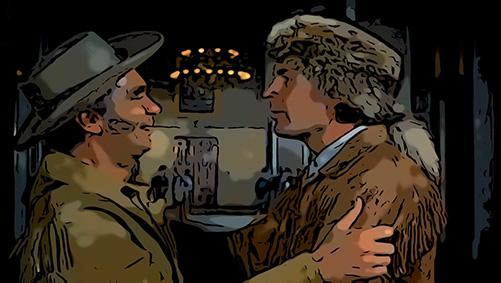 Davy Crockett versus Daniel Boone
