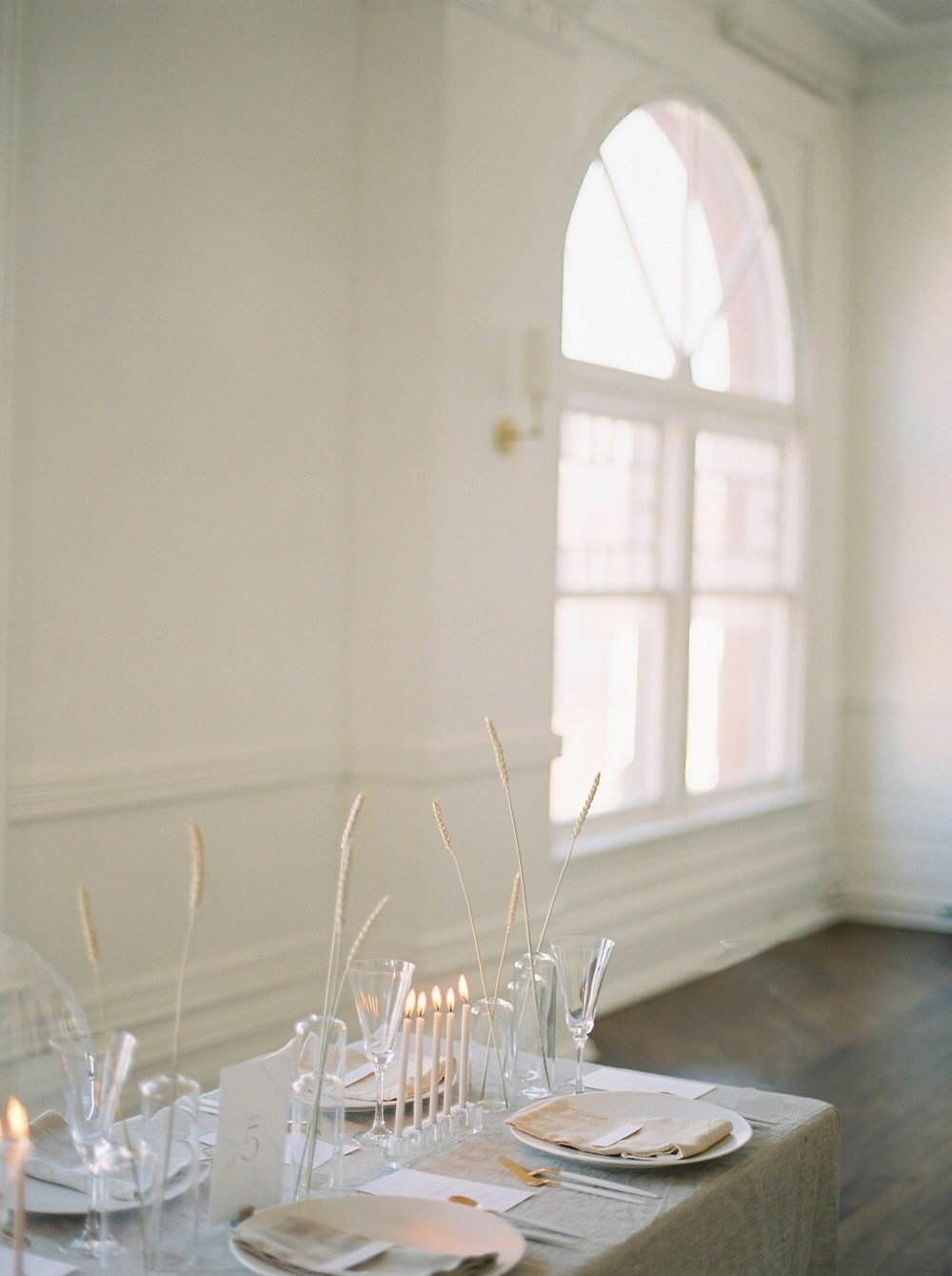 MINIMAL - winter wedding editorial