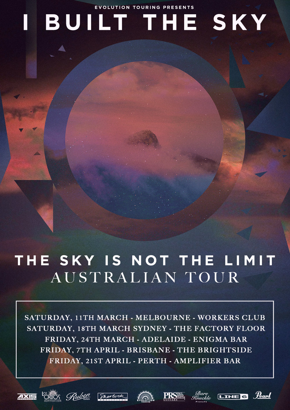I Built The Sky (AUS) - Australian Tour