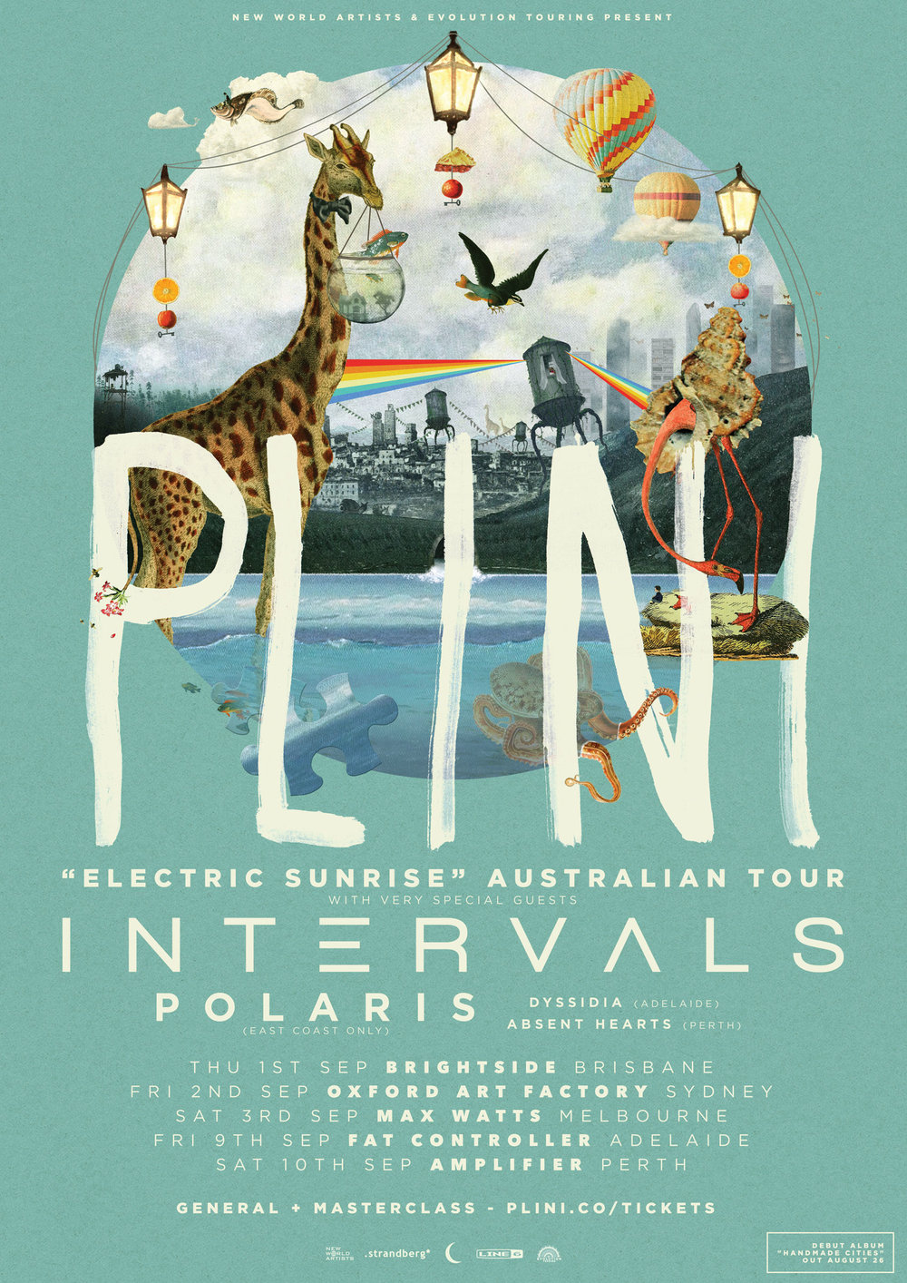 Plini (AUS) + Intervals (CAN) - Australian Tour