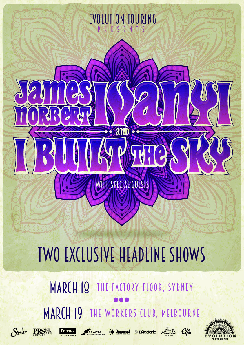 James Norbert Ivanyi (AUS) + I Built The Sky (AUS) - 2 Exclusive Shows
