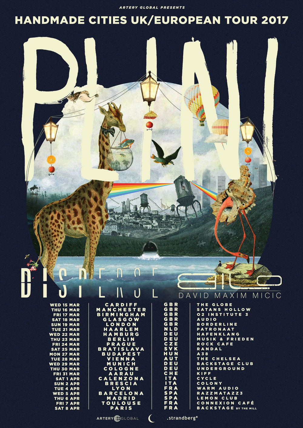 Plini (AUS) + Disperse (POL) + David Maxim Micic (SRB) - UK / Europe tour