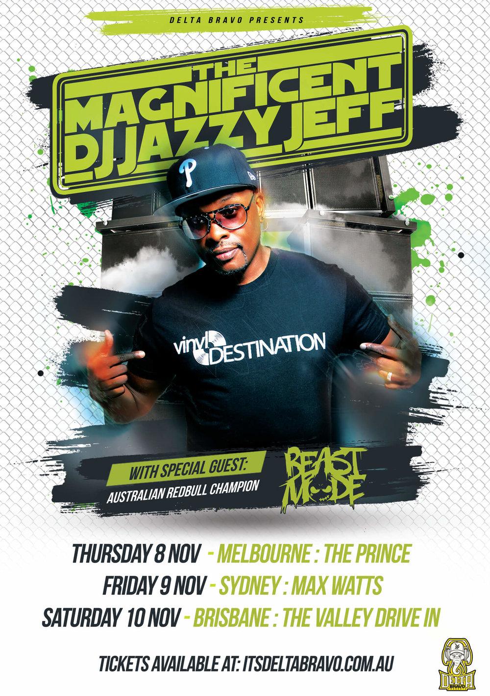 DJ Jazzy Jeff (USA) - Australia