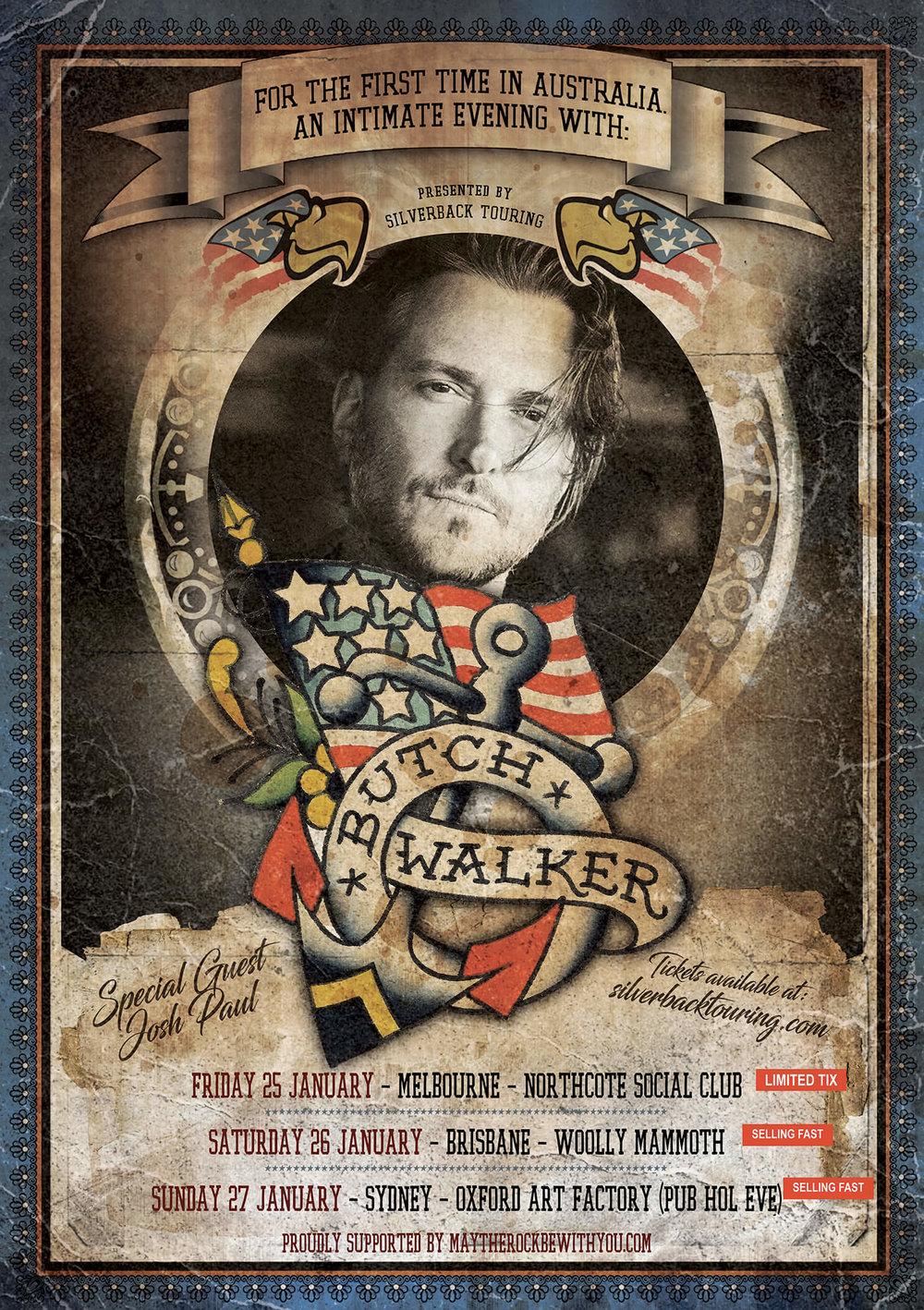 Butch Walker (USA) - Australian tour