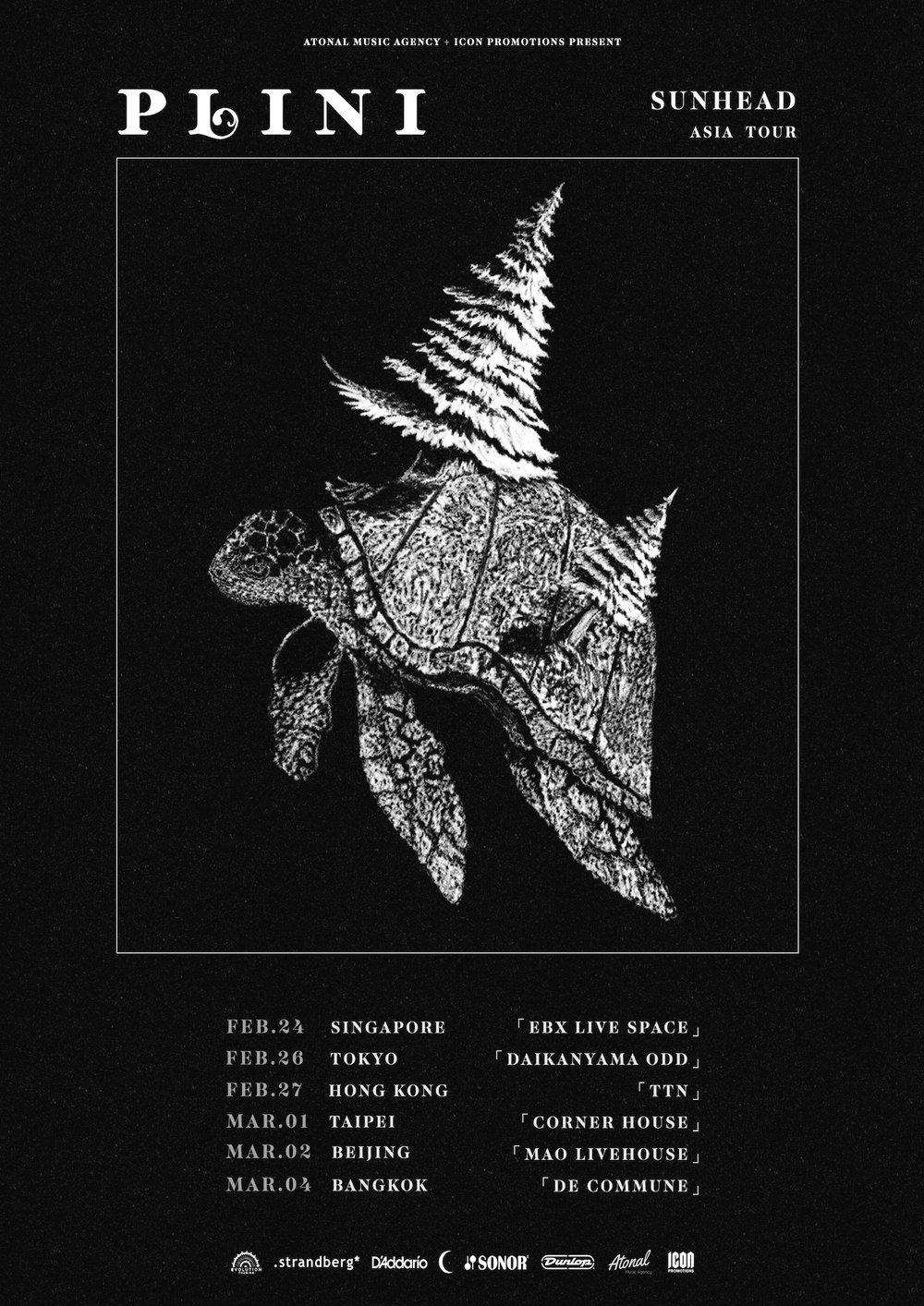 Plini (Aus) - Asian tour