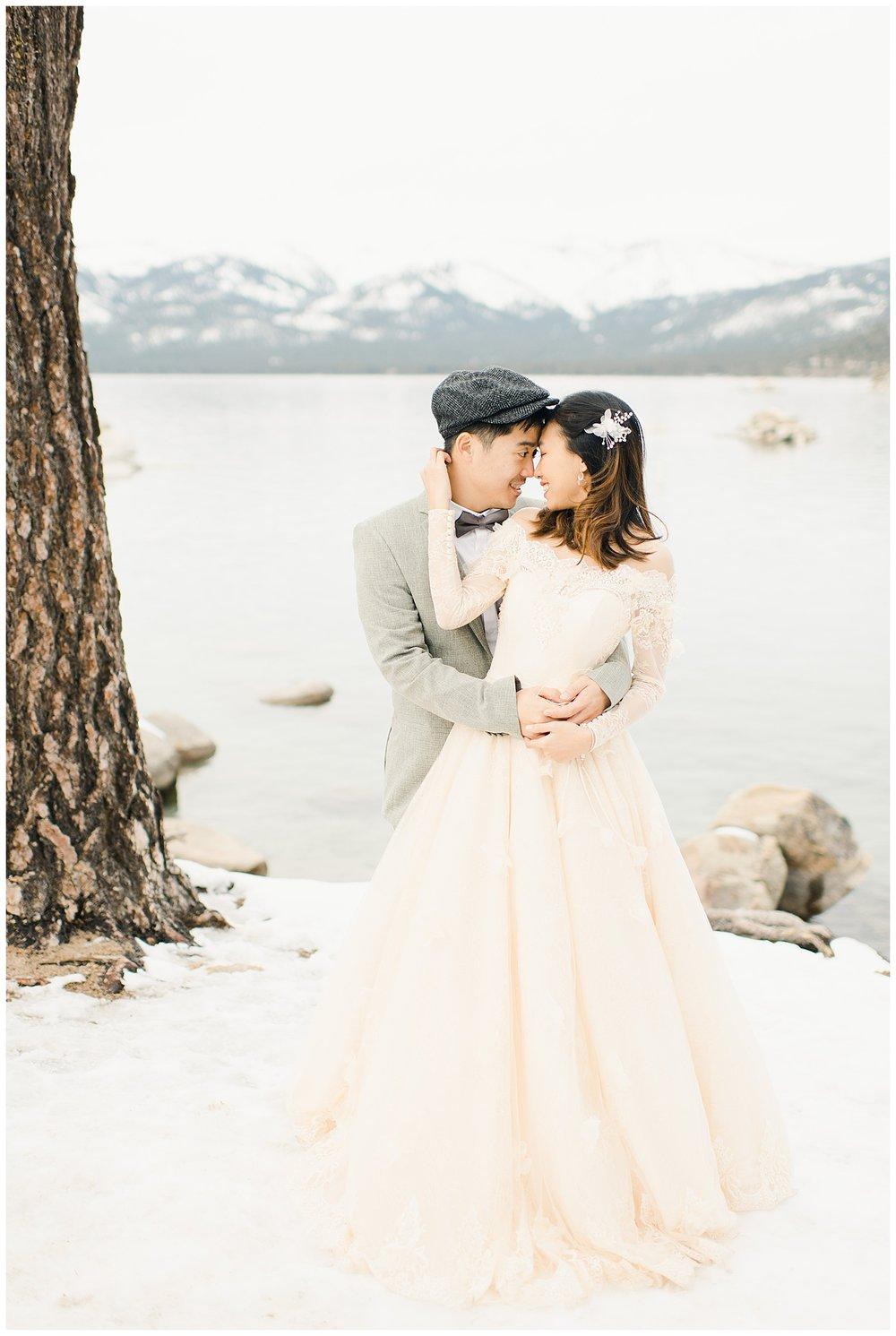 Lake Tahoe Engagement. Ginny and Wilson. 19