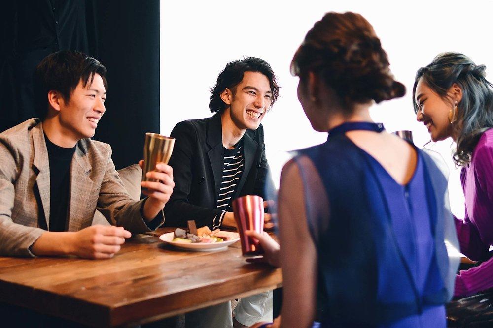 新しい人たちと繋がるパーティ - ドレスアップしてパーティ、気軽に飲み会など毎月様々な企画を開催しています。