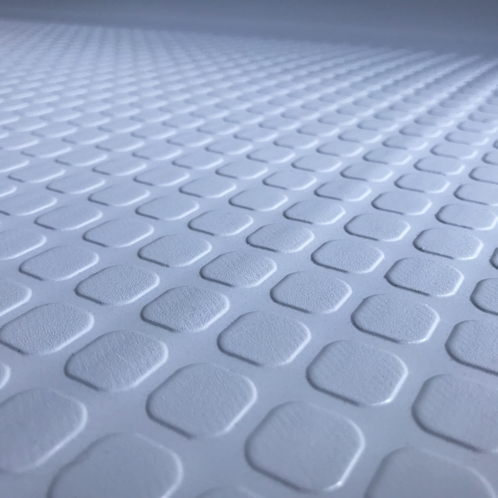 Close-up of the anti-skid pattern