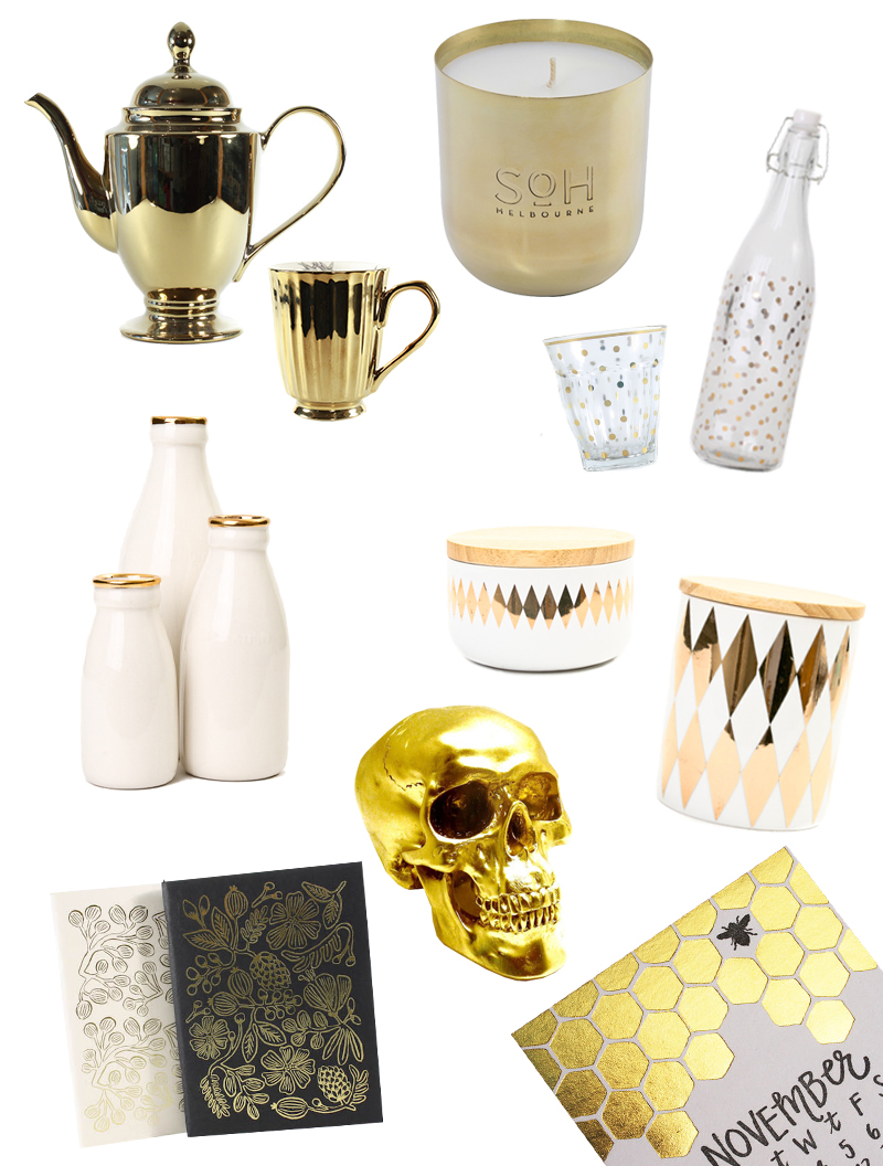 Gold Homewares