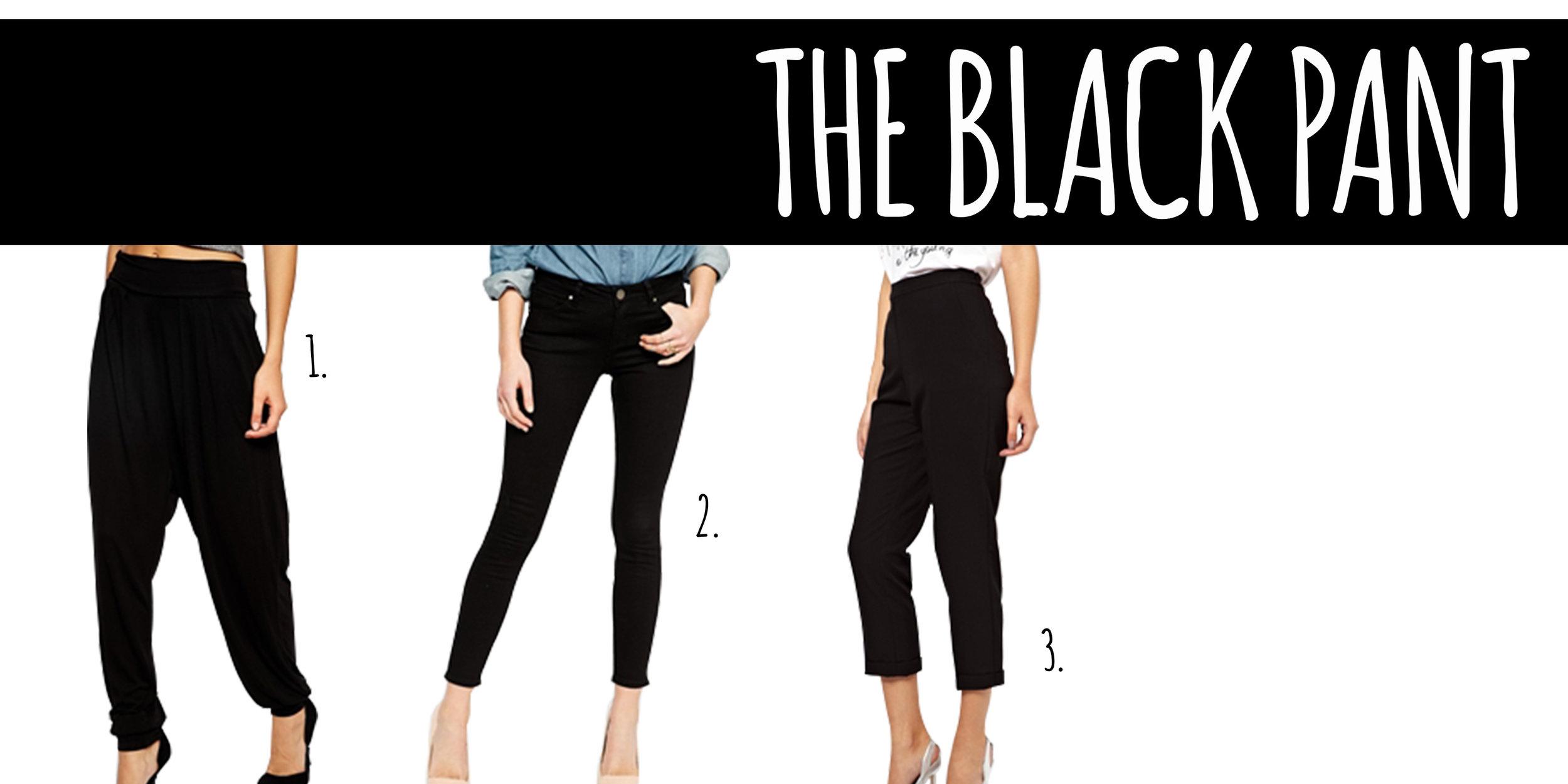 The Black Pant