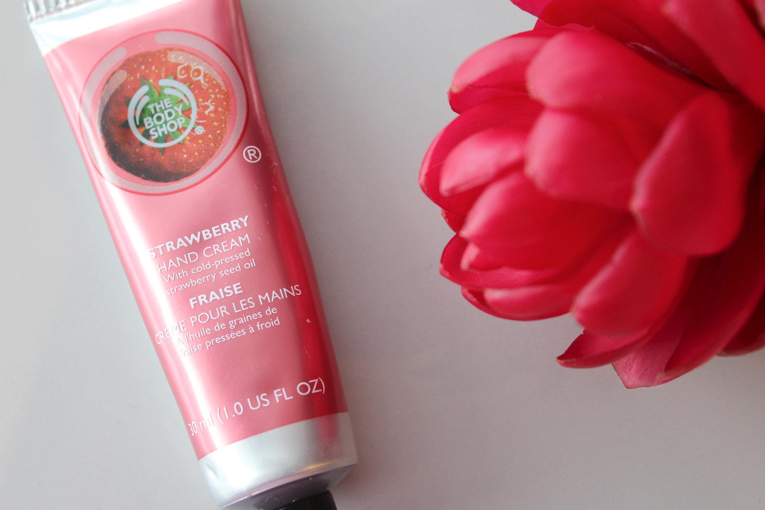 The Body Shop Strawberry Hand Cream | Emma Louisa