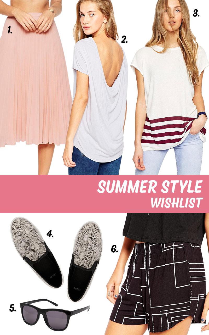 Summer style wishlist | EmmaLouisa.com