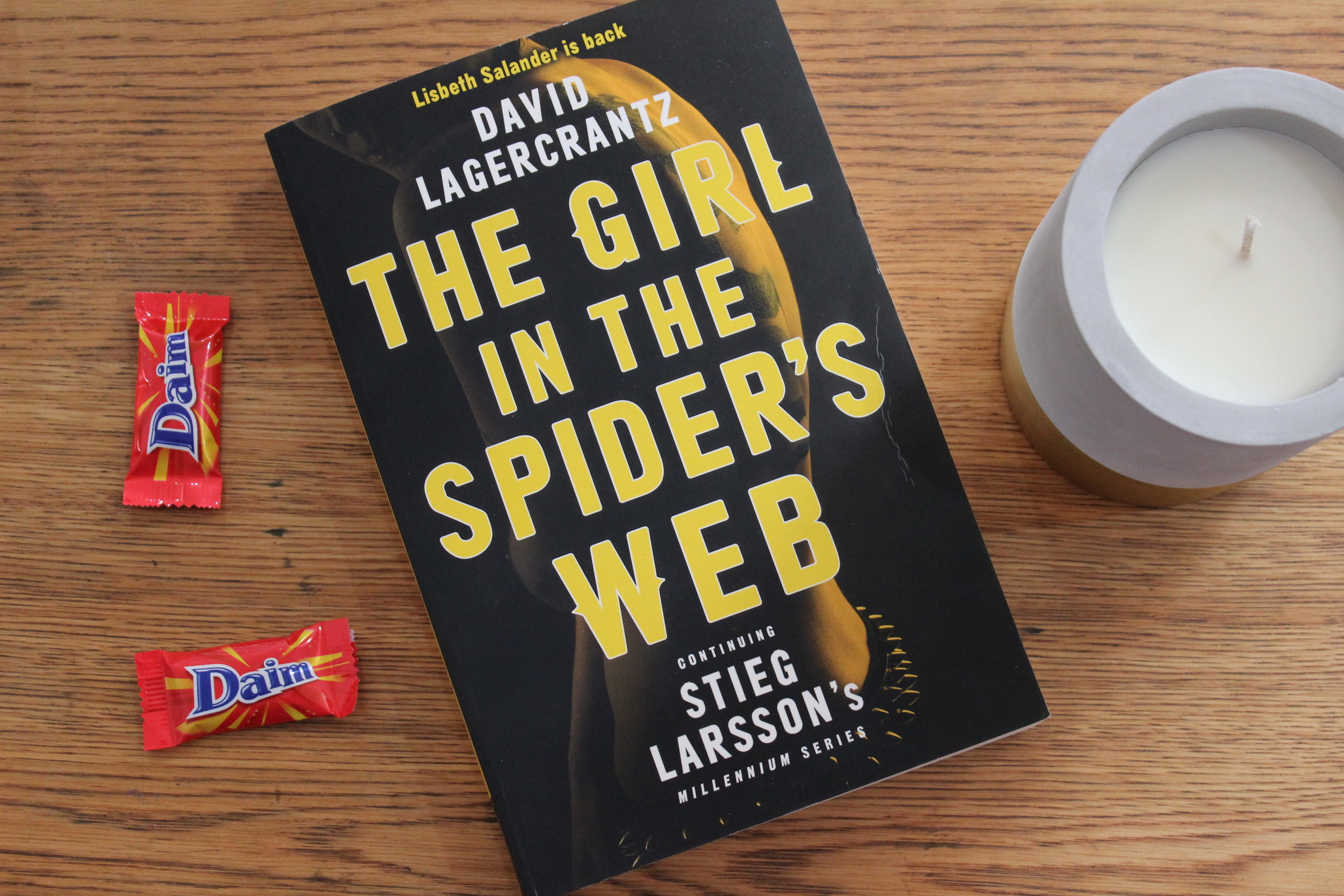 The Girl In The Spider's Web | EmmaLouisa.com