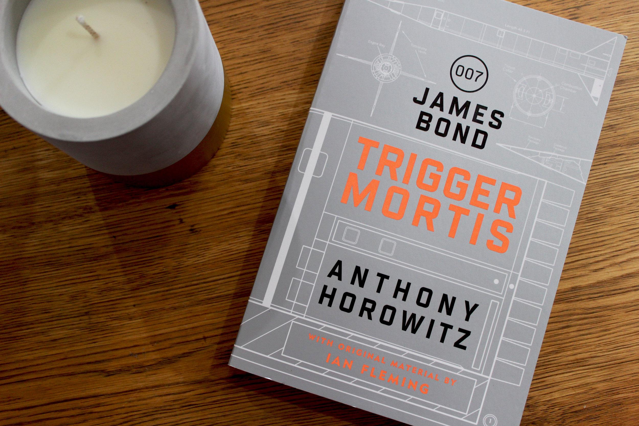 Trigger Mortis Book Review | Emma Louisa
