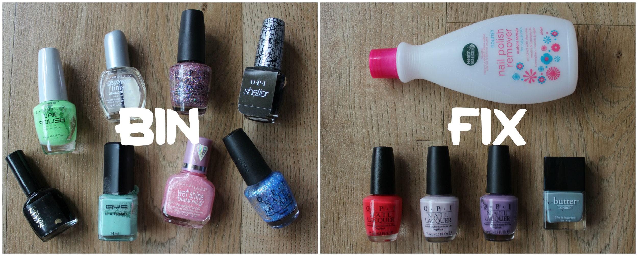 The Nail Polish Clear-Out | EmmaLouisa.com