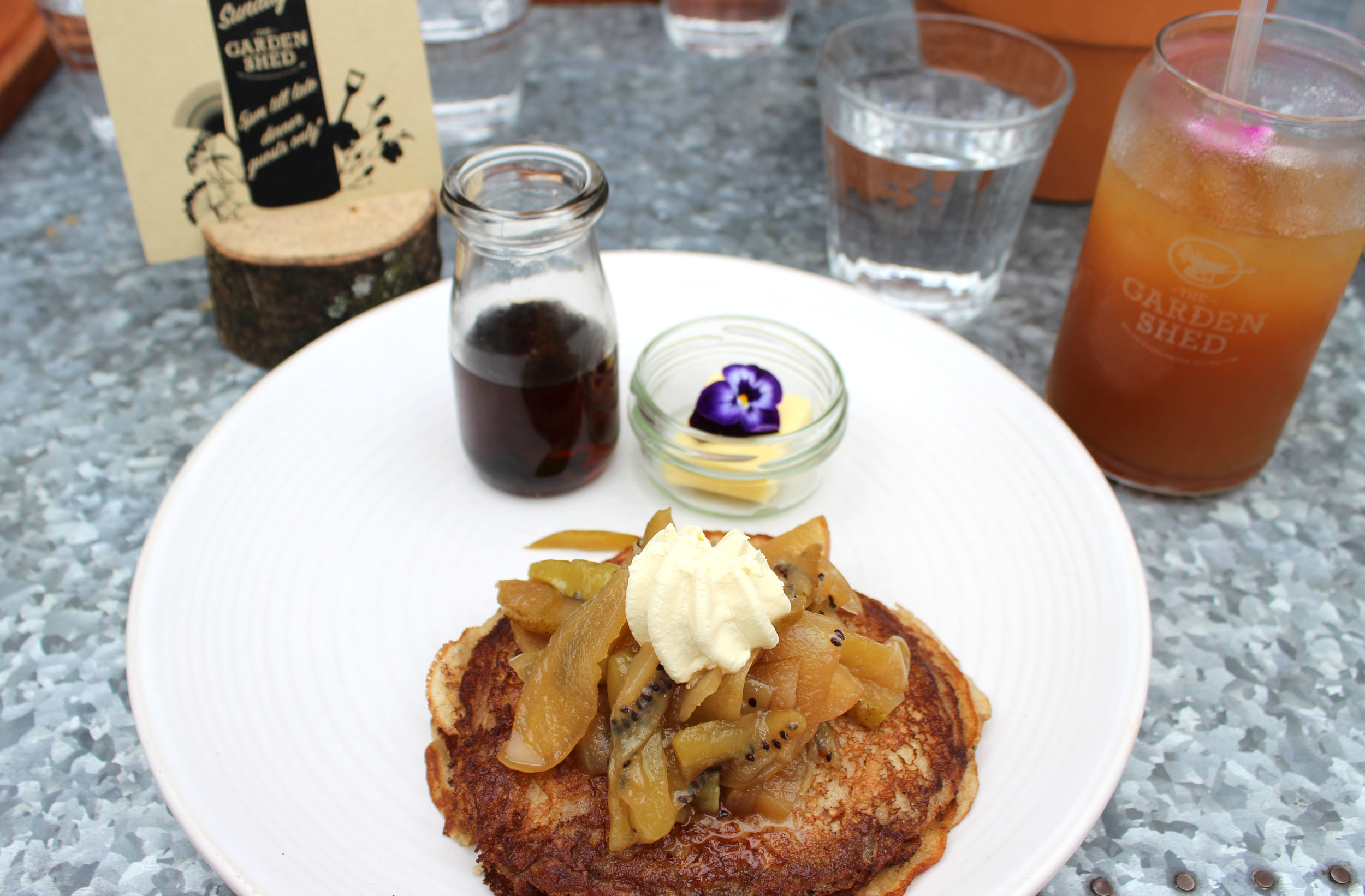 The Garden Shed Buckwheat Pancakes | EmmaLouisa.com