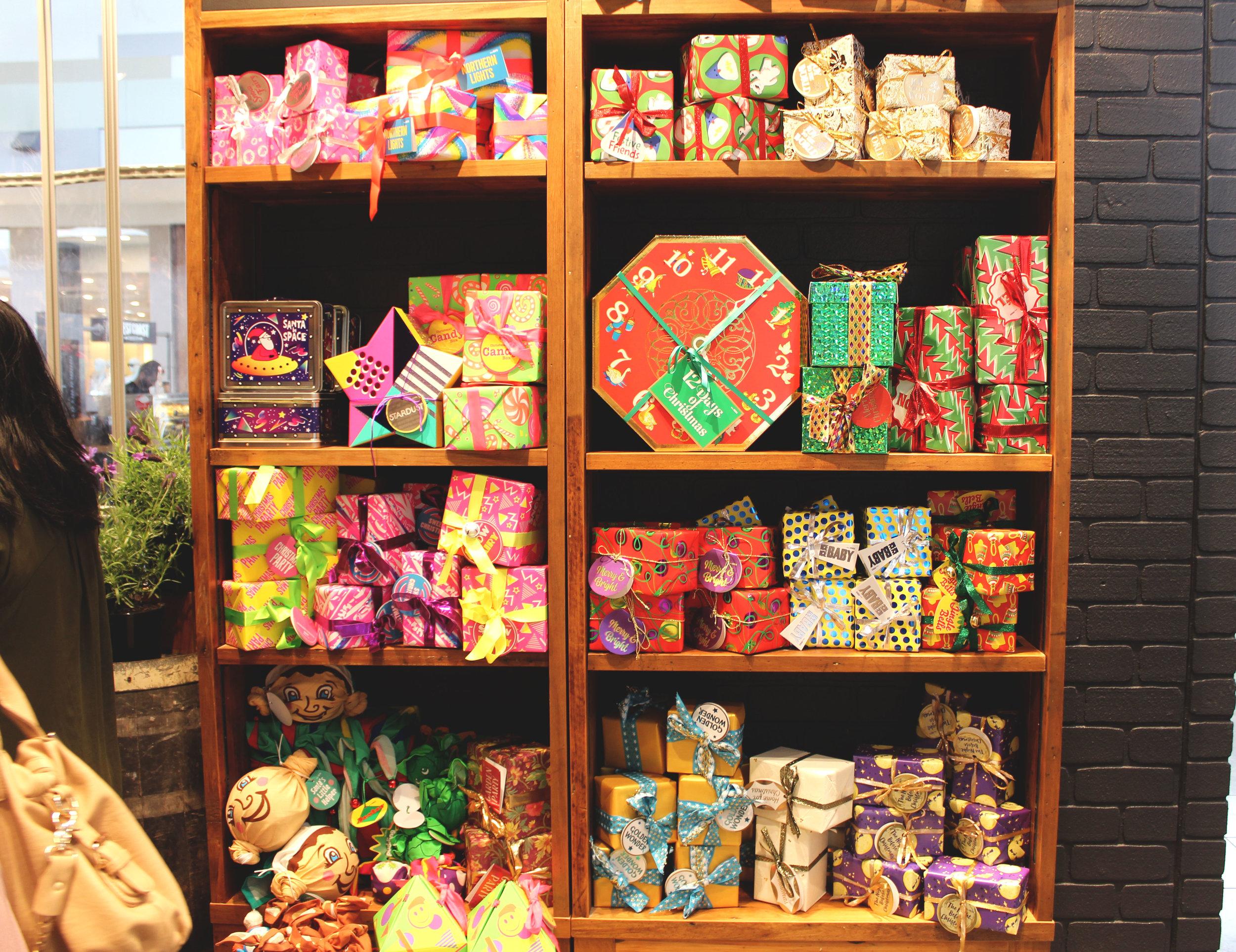 LUSH Christmas Launch | Emma Louisa