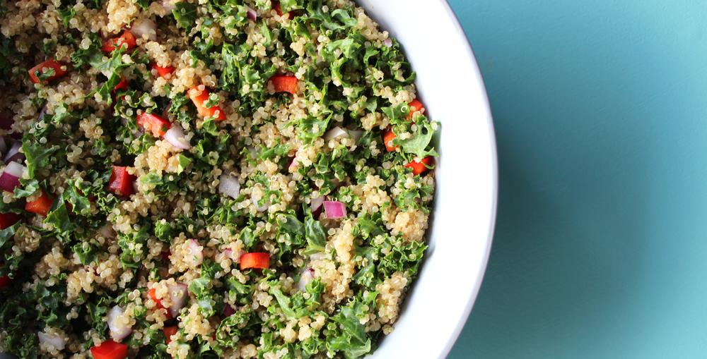 Kale and Quinoa Salad Recipe | EmmaLouisa