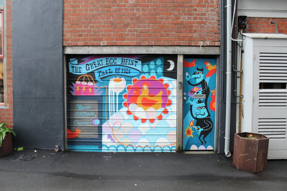 Egmont Street, Te Aro, Wellington