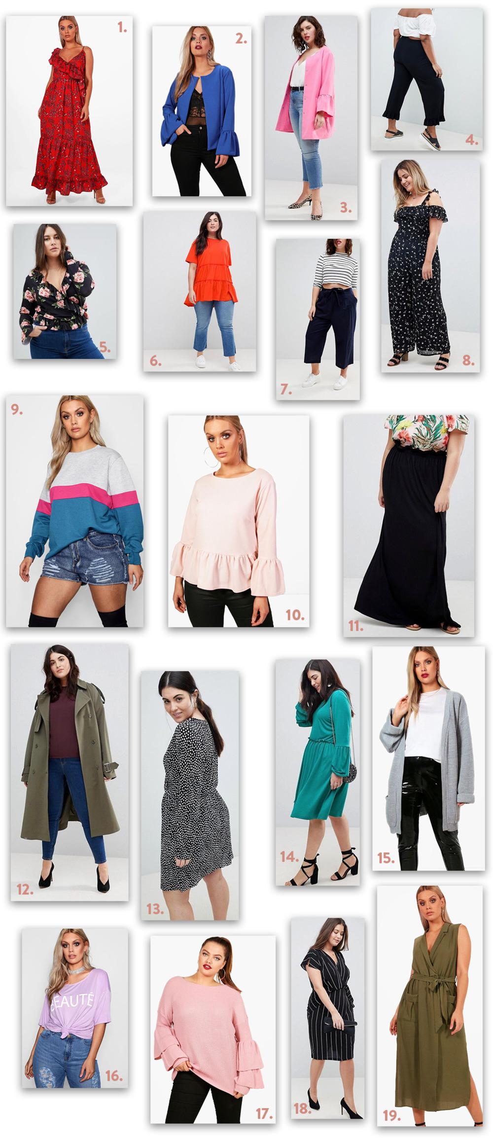 Plus Size Fashion Wishlist | EmmaLouisa.com