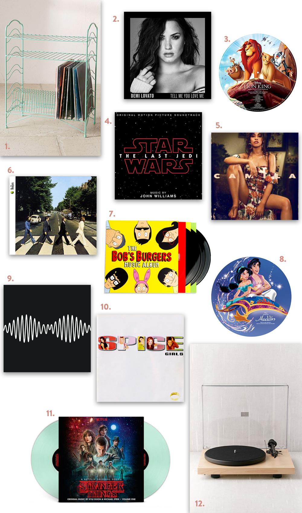 Vinyl Wishlist | EmmaLouisa.com