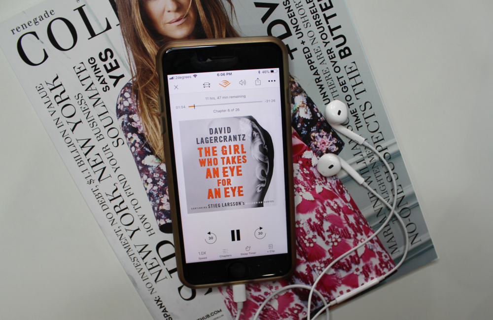 The Girl Who Takes An Eye For An Eye by David Lagercrantz | Book Review | Emma Louisa