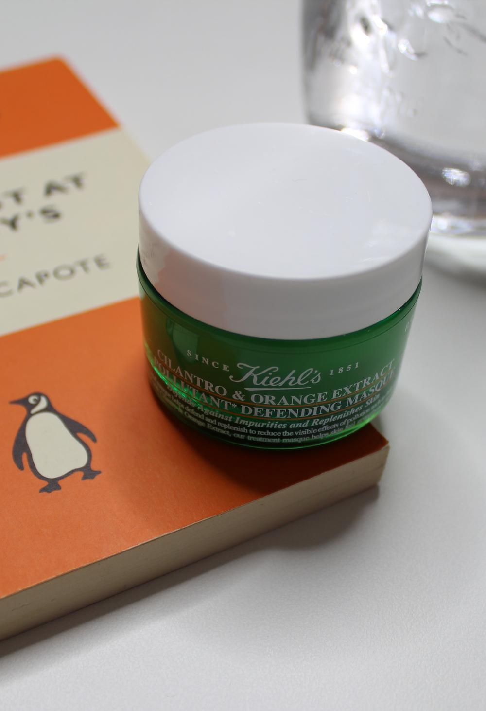 Kiehl's Cilantro & Orange Extract Pollutant Defending Masque | Emma Louisa
