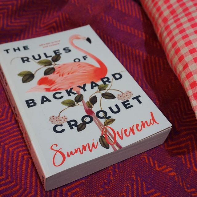 I've made myself quite the reading nook and have been spending my evening digging in to @sunnioverend's The Rules of Backyard Croquet. I'm over halfway and loving it 😍 #nzbloggers